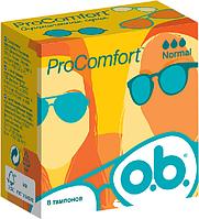 Тампоны O.B. ProComfort, 3 капли (8шт.)