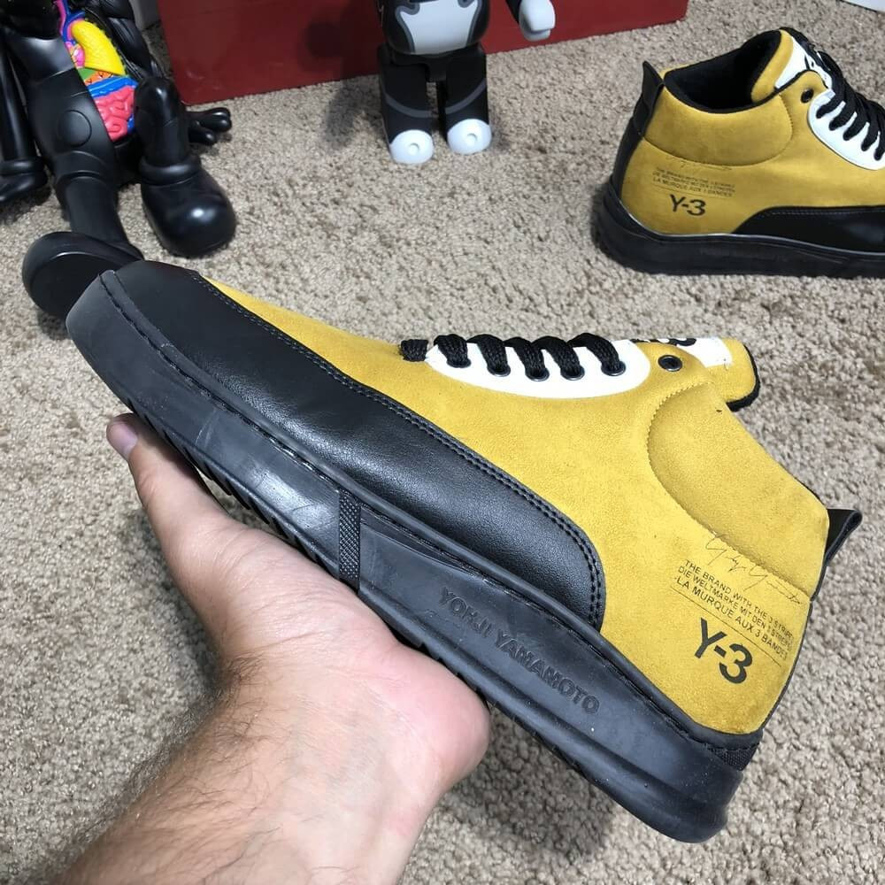Adidas Y-3 Bashyo II Sneakers Yellow/Black О Му