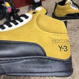 Adidas Y-3 Bashyo II Sneakers Yellow/Black О Му, фото 2
