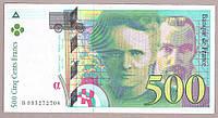 Банкнота Франции 500 франков 1995 г XF