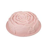 Форма силиконовая для выпечки Роза, 23см