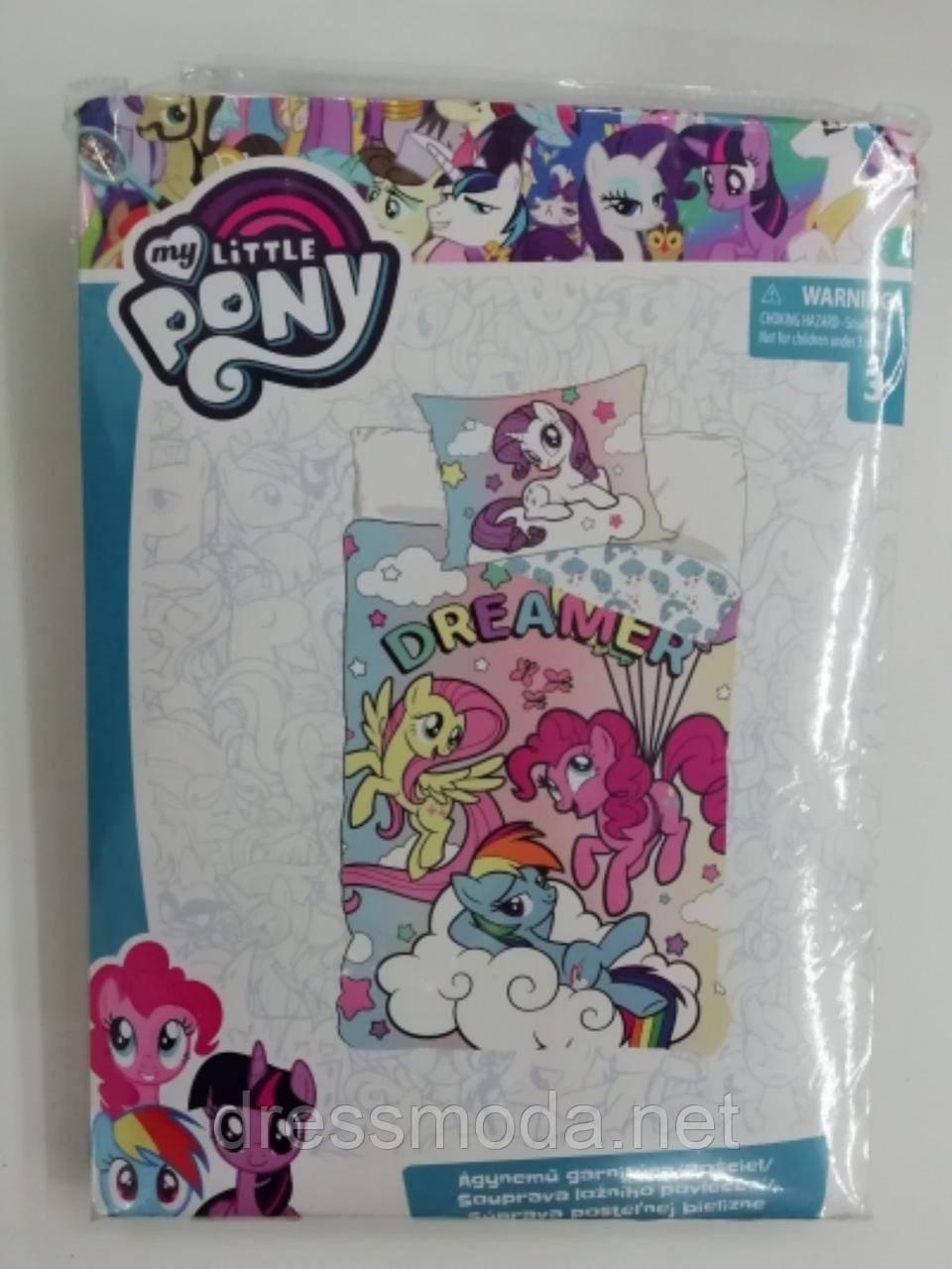 Комплект постельного белья Little Pony 140/90+40/50 см