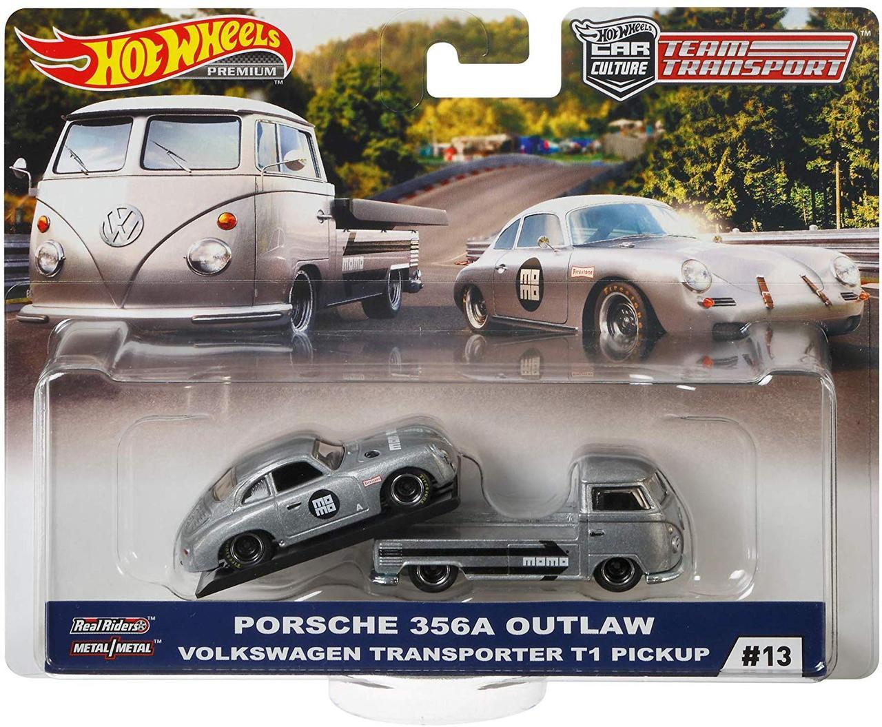 Hot Wheels Team Transport Volkswagen T1 Transporter Pickup. Уценка