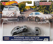Hot Wheels Team Transport Volkswagen T1 Transporter Pickup. Уценка