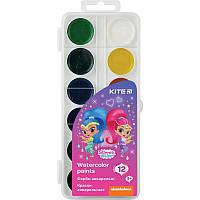 Краски акварельные Kite Shimmer&Shine 12цв. (SH20-061)
