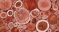 Обои влагостойкие мойка Слайс 146-05 красное дерево, фото 1