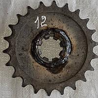 Звездочка ПРТ-7/10 Z-22 диаметр 40 под шлиц.