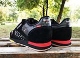 Кроссовки Reebok classic black/red у, фото 4