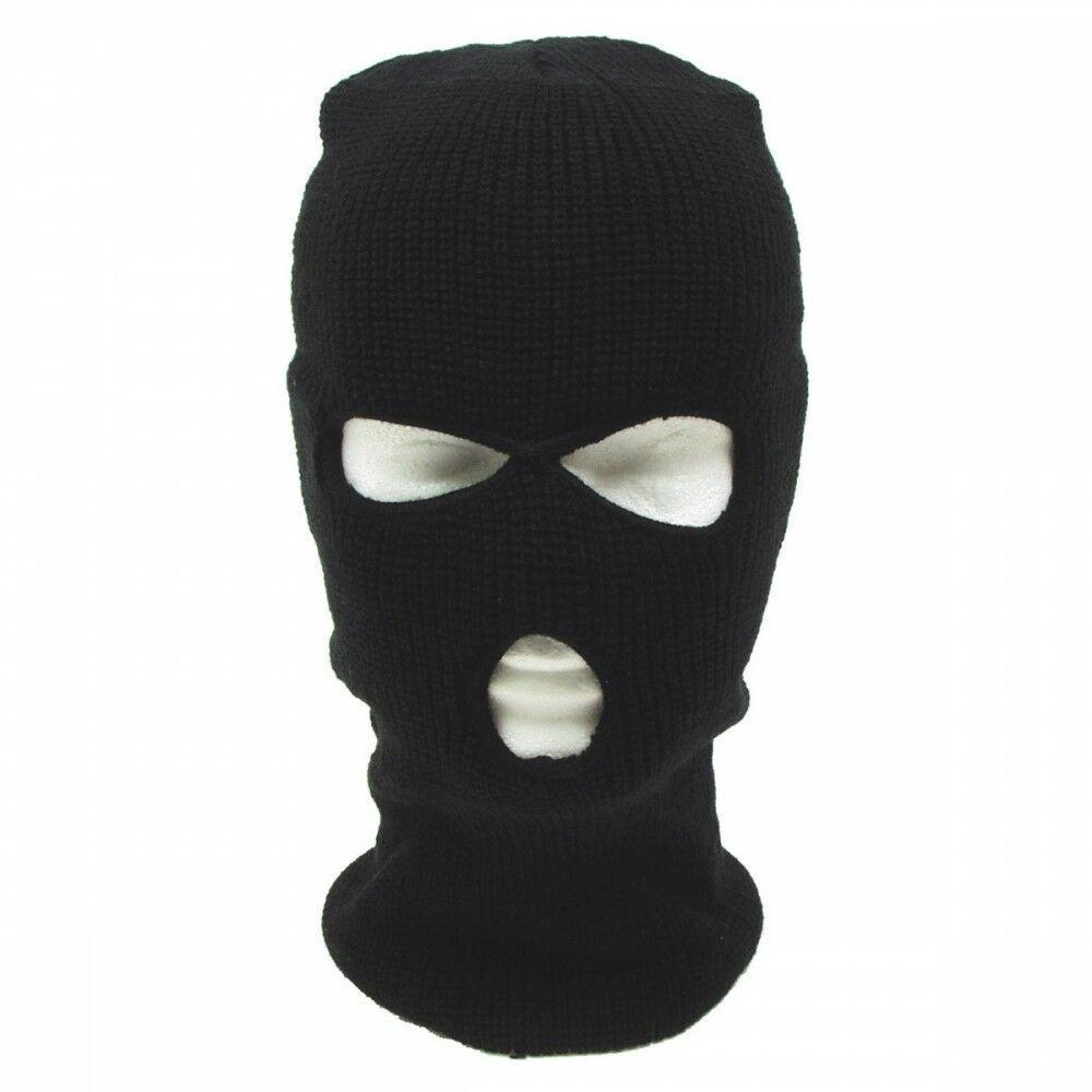 Балаклава вязаная акрил черная MFH террорка