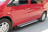 Mercedes Vito W638 1996-2003 гг. Боковые площадки Line (2 шт., алюм.)