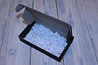 Коробка картонна 185 х 110 х 37 мм, самозбірна (чорна), фото 3