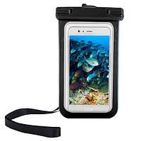 Чехол водонепроницаемый Camotes для смартфонов черный, фото 1