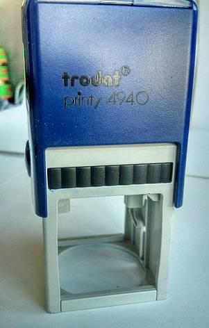 Оснастка Trodat printy 4940 для круглой печати с колпачком 40x40 мм б/у, фото 2