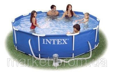 Каркасный сборно-разборный бассейн Intex 56997 Metal Frame Pool (305х76 см. ) Без насоса.