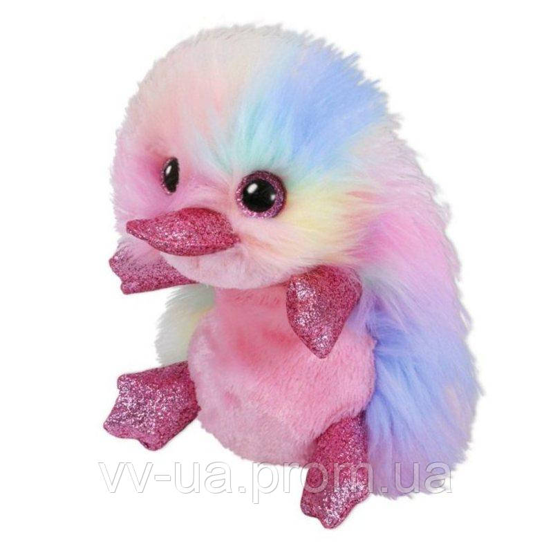 Мягкая игрушка TY Beanie Boos Разноцветный утконос Petunia, 15 см (36286)