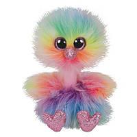 Мягкая игрушка TY Beanie Boos Страус Asha, 15 см (36281)