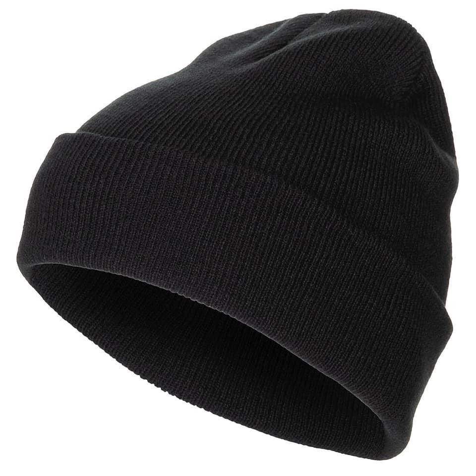 Шапка зимняя черная акрил MFH