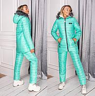 Женский зимний лыжный костюм на меху