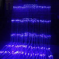 Гирлянда Водопад штора 3×2 метра эффект дождя 400 LED