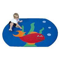Детский мат-коврик для развития Рыбка TIA-SPORT