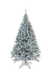 Елка Литая 1,8 м искуственная Президентская заснеженая новогодняя высокого качества ,материал иголок не горит