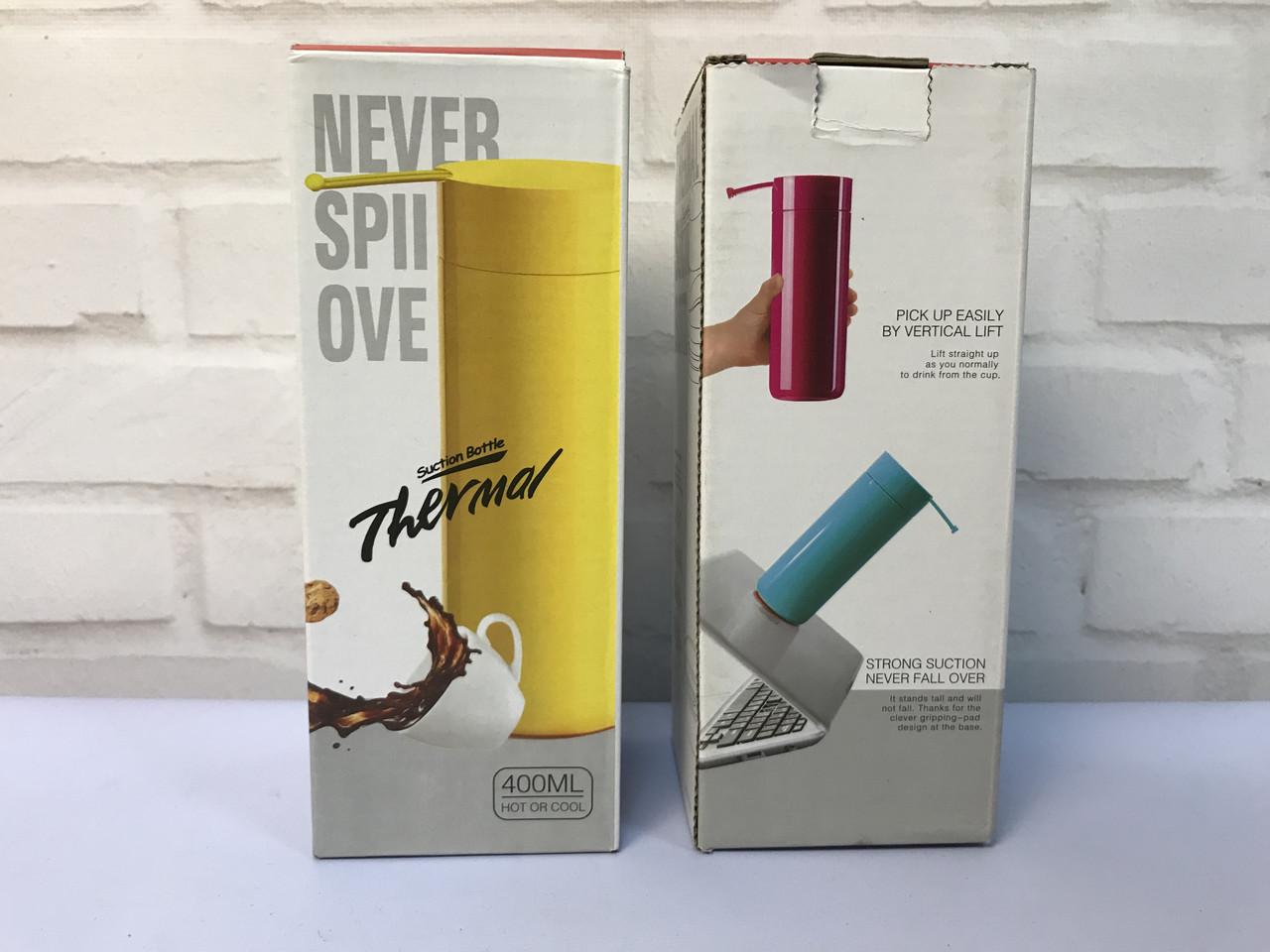 Компактный Антигравитационный Мини-термос 400 мл Never spill over. Лучшая Цена! - фото 8