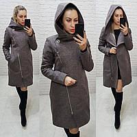 Пальто зимнее из кашемира, цвет 08, арт.136