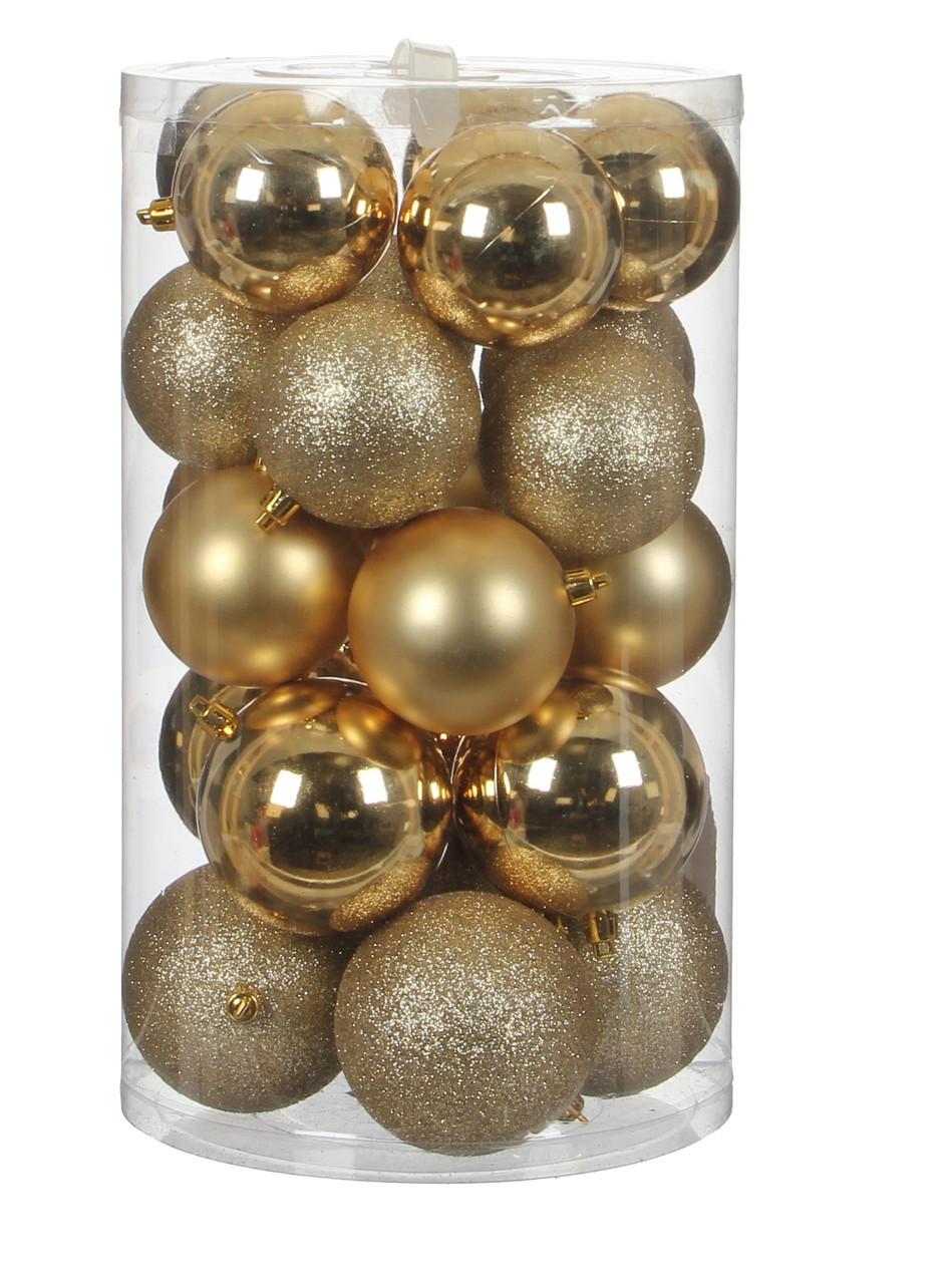 """Елочные шарики """"House of Seasons"""" комплект 23 шт, цвет золотой"""