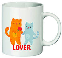 "Чашка с принтом ""Lover"""