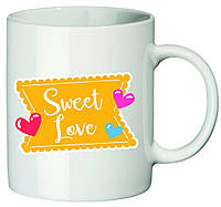 """Чашка с принтом """"Sweet Love"""""""