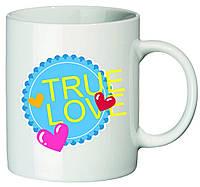 "Чашка с принтом ""True Love"""