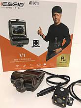 Відеореєстратор ART-6743 - V1 WIF з двома камерами (20 шт/ящ)