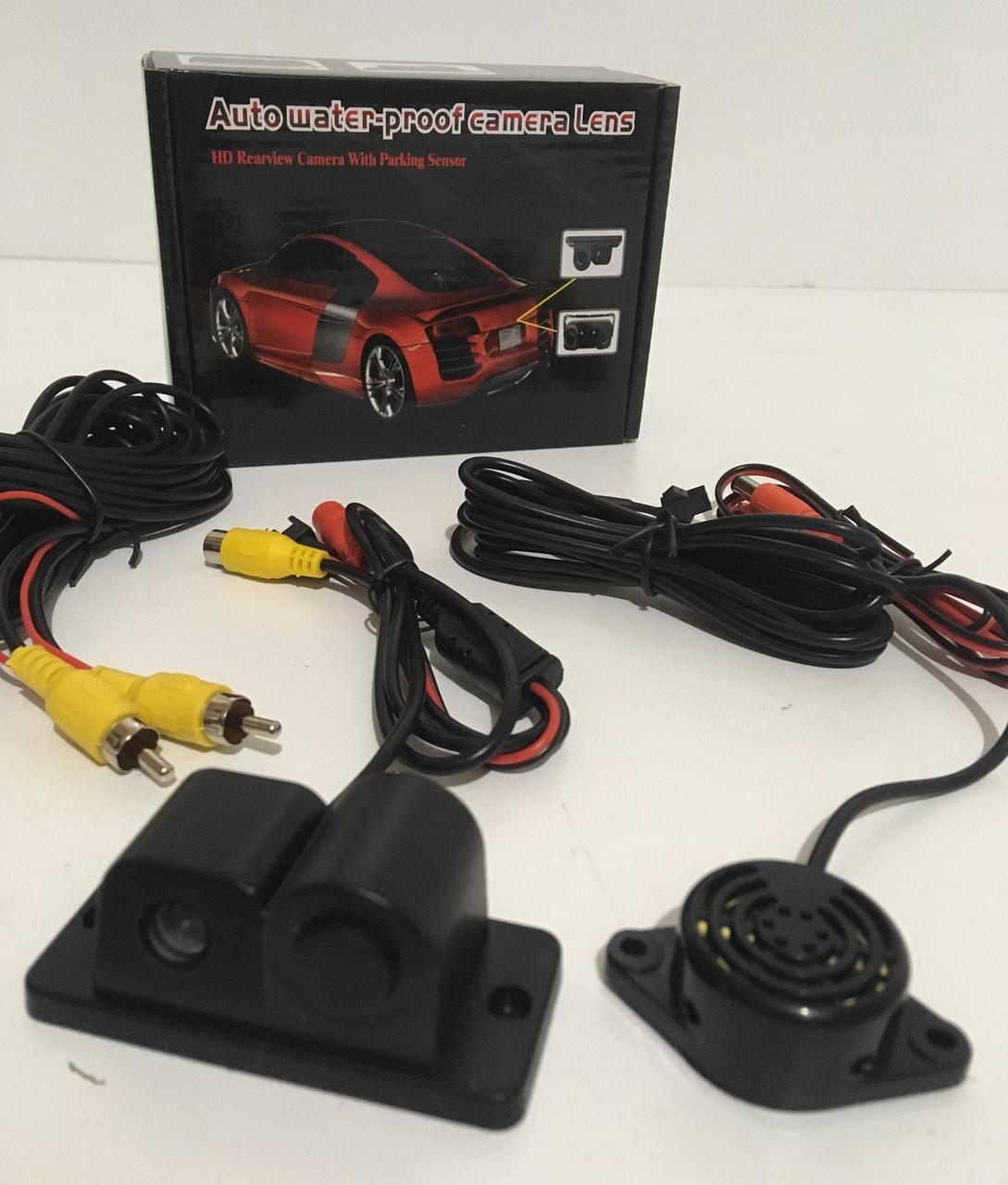 Автокамери з парктроніком Auto Water-Proof Camera Lens CAR CAM. 01R (50 шт/ящ)