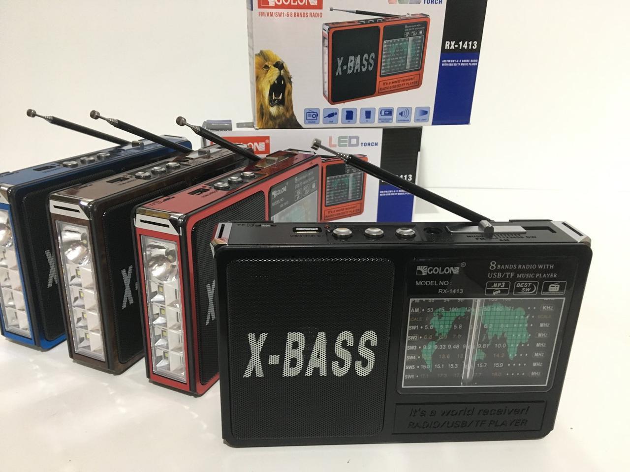 Радиоприемники-GOLON RX-1413 (40 шт/ящ)