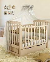 Дитяче ліжечко Angelo Lux-7 Слонова кість