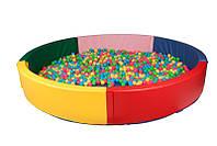 Сухой бассейн круглый 200х40 см TIA-SPORT, фото 1