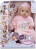 Интерактивная кукла пупс Аннабель, Baby Annabell, мимика лица, звук, пьёт, писяет. 10 версия! Оригинал!