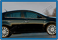 Fiat Bravo 2008+ гг. Накладки на ручки (4 шт., нерж.)