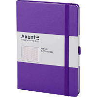 Записная книга блокнот Axent Partner Prime 145x210мм 96л клетка,фиолетовый (8305-11-A)