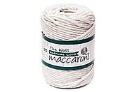 Эко шнур Macrame Cord 5 mm, цвет Лен