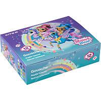 Гуашь Kite Shimmer and Shine 20мл 12цв (SH20-063)