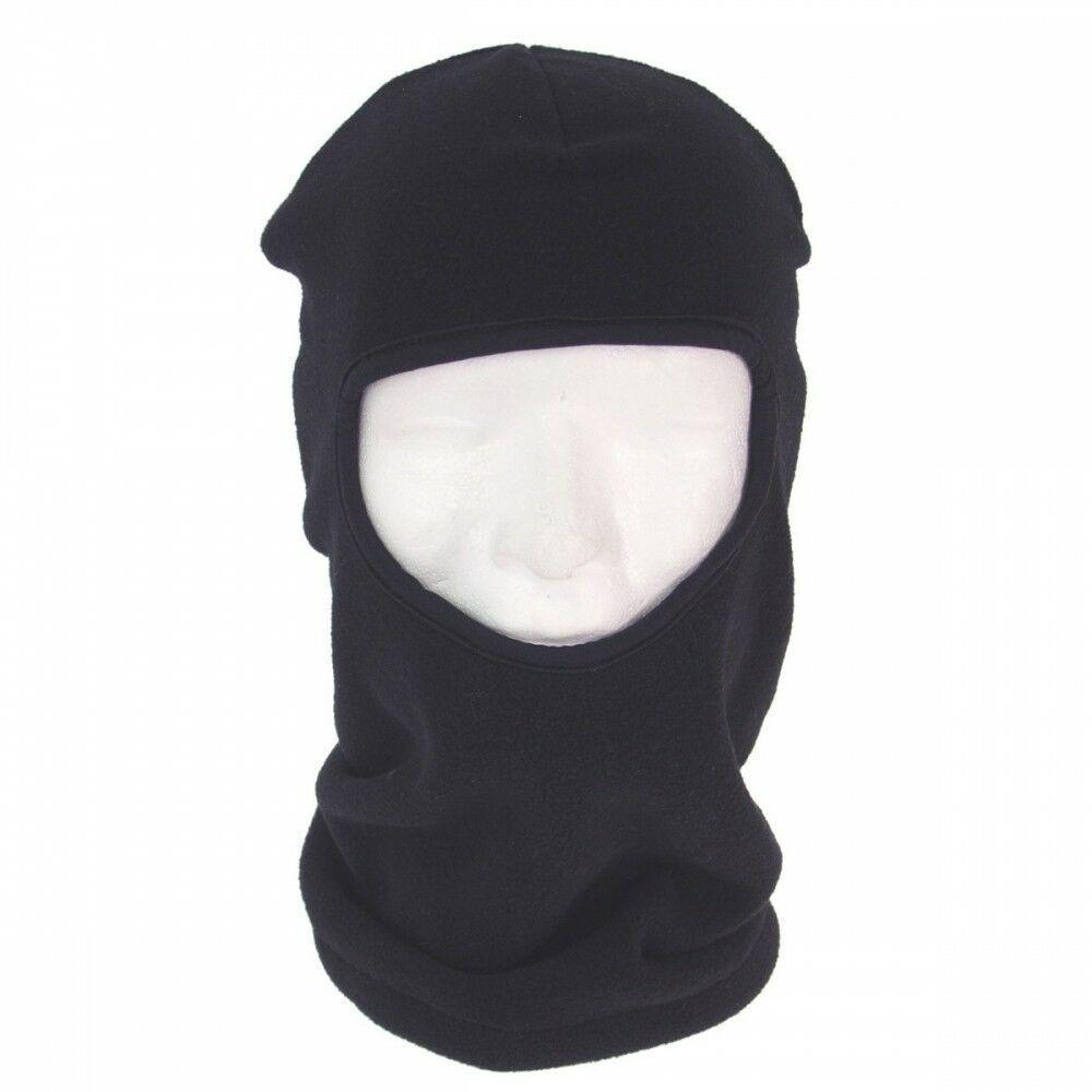Балаклава зимняя флисовая черная MFH террорка
