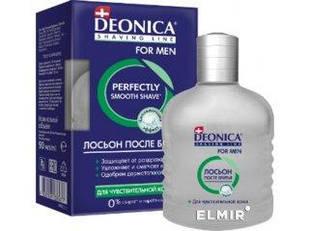 """DEONICA FOR MEN - лосьон после бритья """"Для чувствительной кожи"""" 90 мл"""