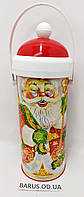 Новогодняя упаковка для конфет Дед Мороз 500 г