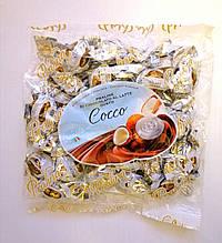 Шоколадные конфеты «Dolciaria Monardo Pralines» с кокосовым пралине 450 грамм, Италия