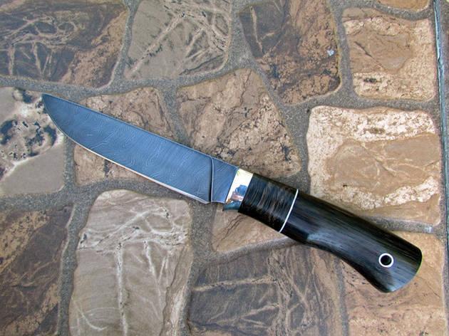 """Нож ручной работы """"Грифон"""" из дамасской стали, длина 270 мм, фото 2"""