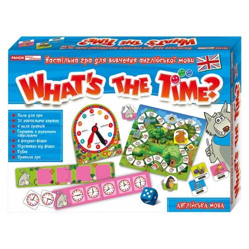 Игра в вопросы на английском языке Который час?  Ранок 13109072У