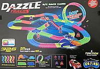 Трек DAZZLE TRACKS 326 деталей с пультом управления   Игрушечный трек для машинок   Конструктор трасса, фото 1