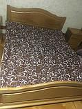 Зимнее тёплое одеяло односторонние  (двуспалка), фото 2