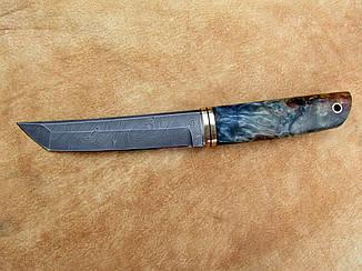 """Нож ручной работы из дамасской стали """"Танто"""", фото 2"""